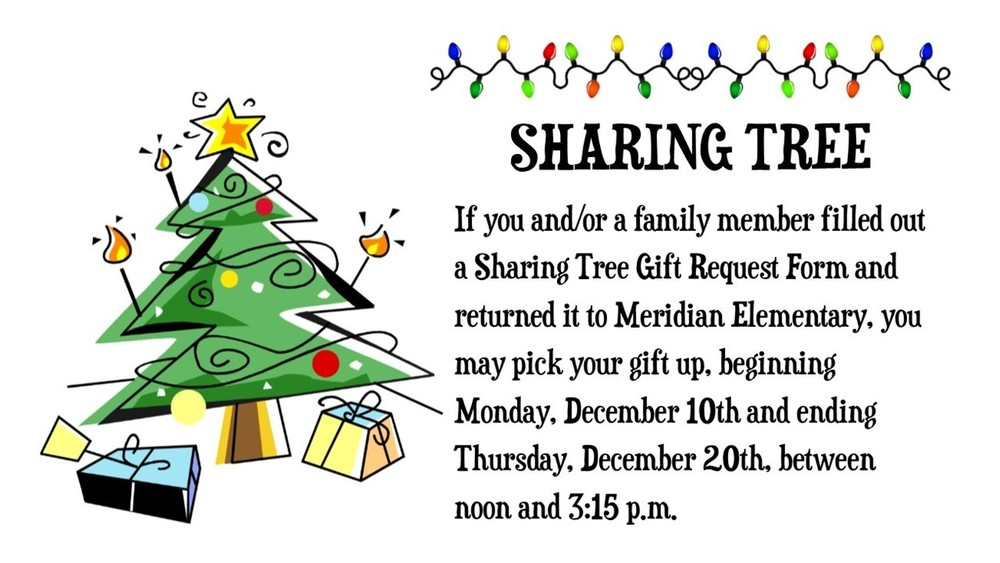 Sharing Tree Pick Up