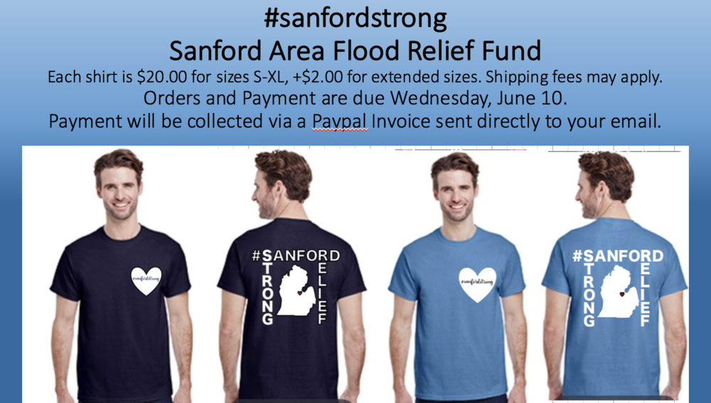 Sanford Strong Shirts: Support Local Relief Efforts