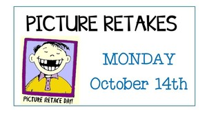 Picture Retake Day - RESCHEDULED