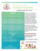 Engineering for Kids Spring Session