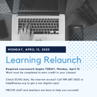 Learning Relaunch begins April 13th!