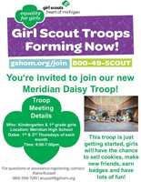 Join the Meridian Daisy Troop