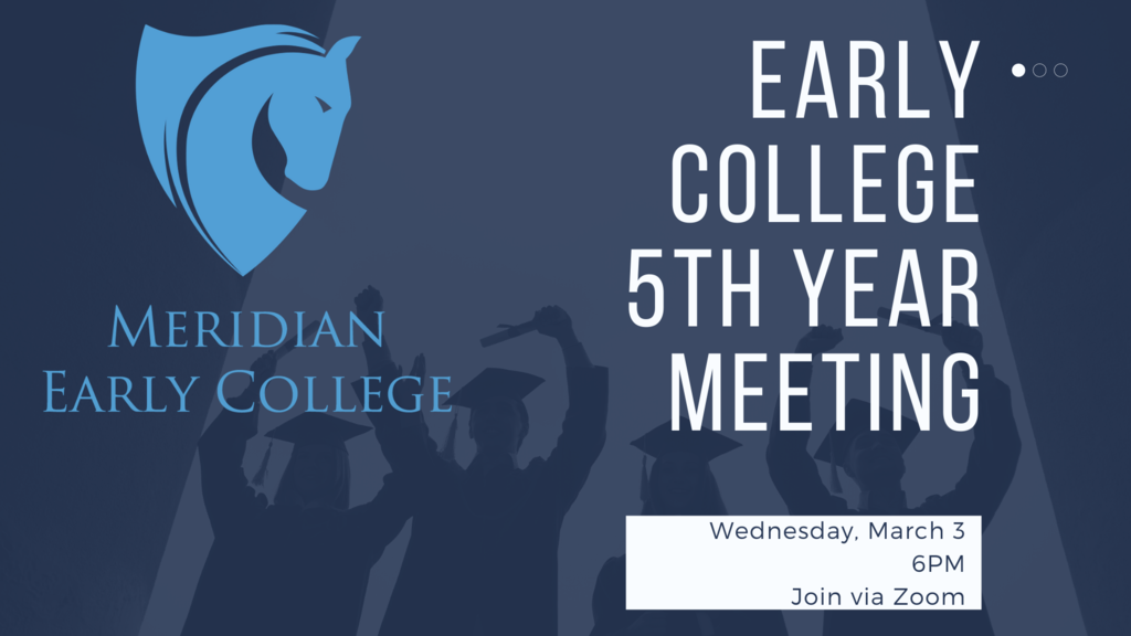 5th Year Early College Meeting