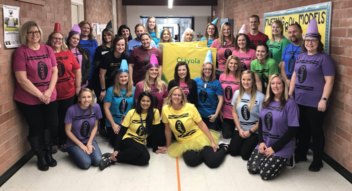 MES staff had fun celebrating Halloween with your children today!  Enjoy the evening and stay safe!
