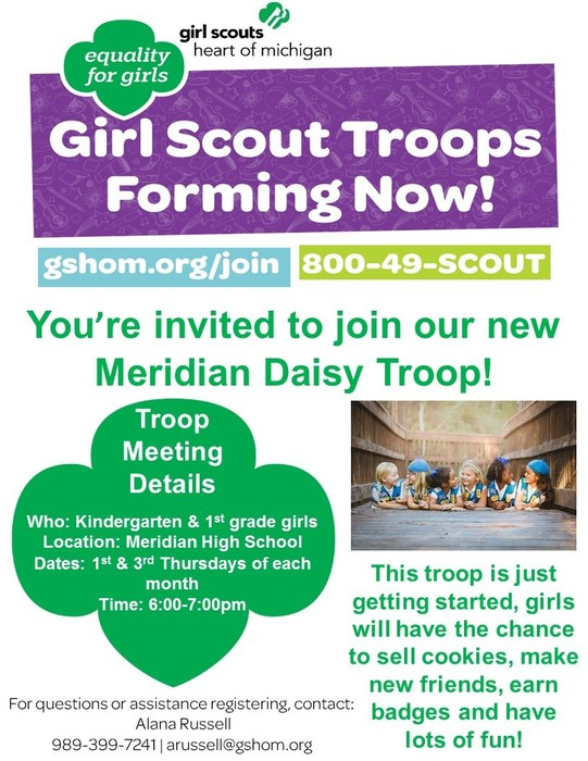 Daisy Girl Scout Troop