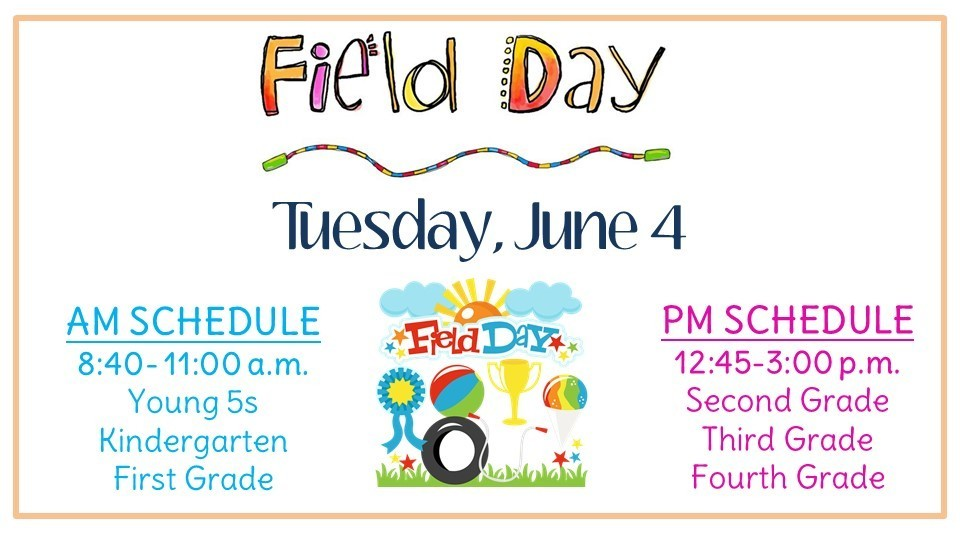 Field Day is June 4th