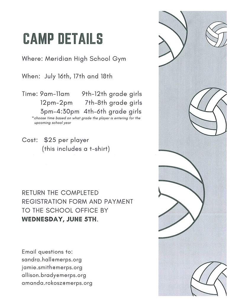 Volleyball Summer Camp