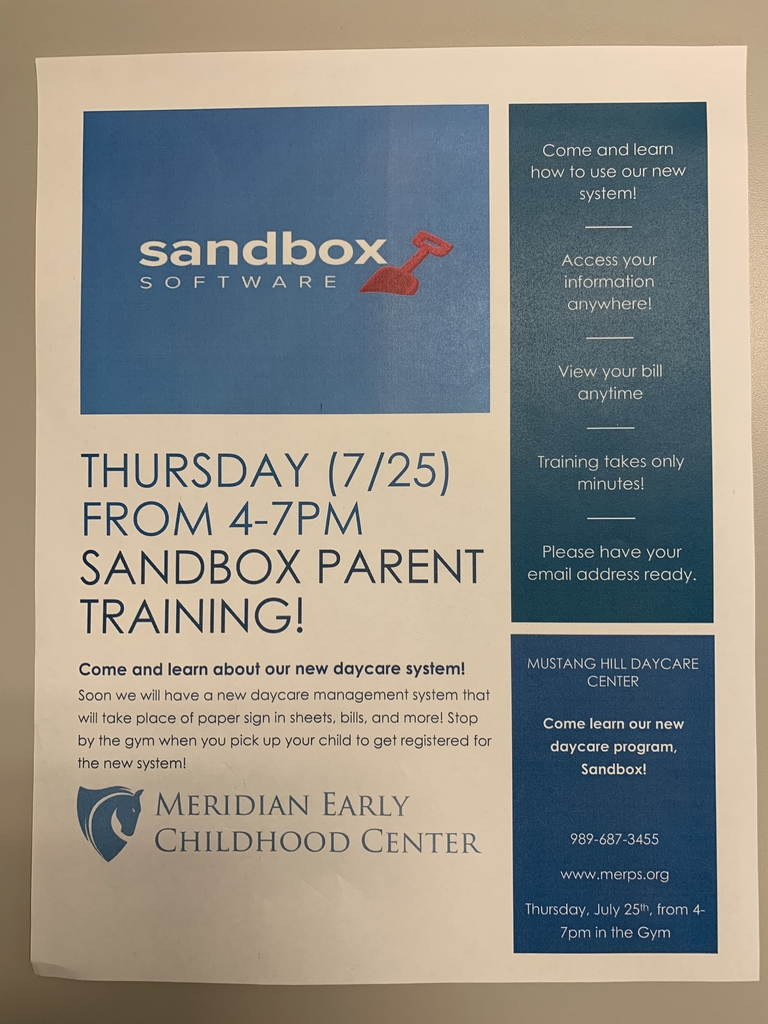 Sandbox Parent Training