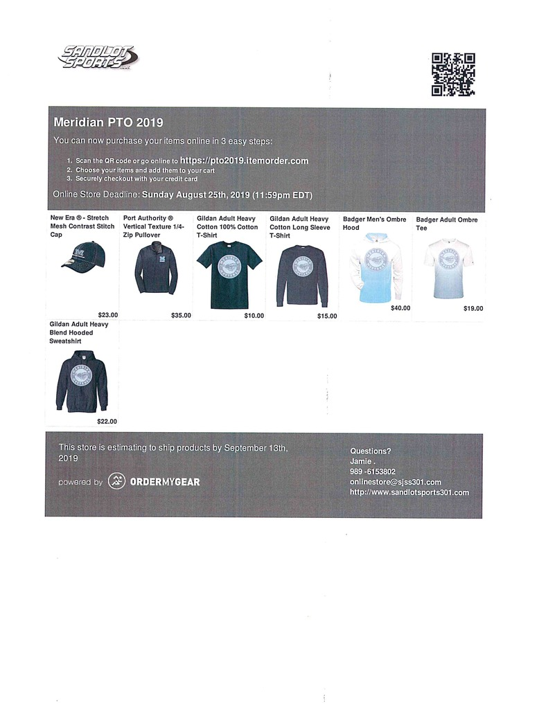 PTO Online Store