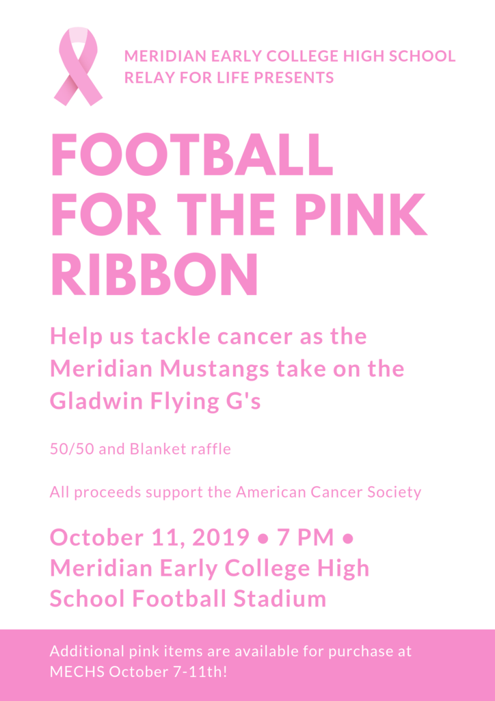 Pink Out Football Game