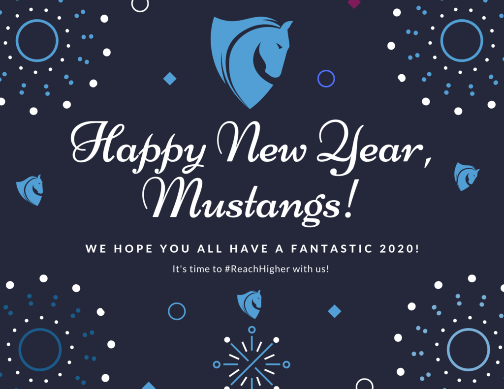 Happy New Year Mustangs!