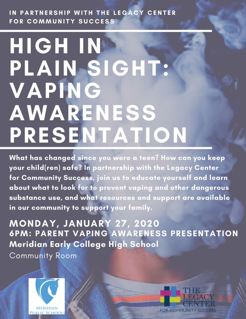 High in Plain Sight: Vaping Awareness Presentation