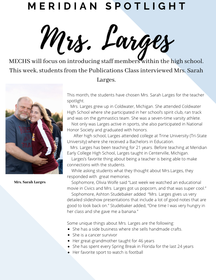Mrs. Larges