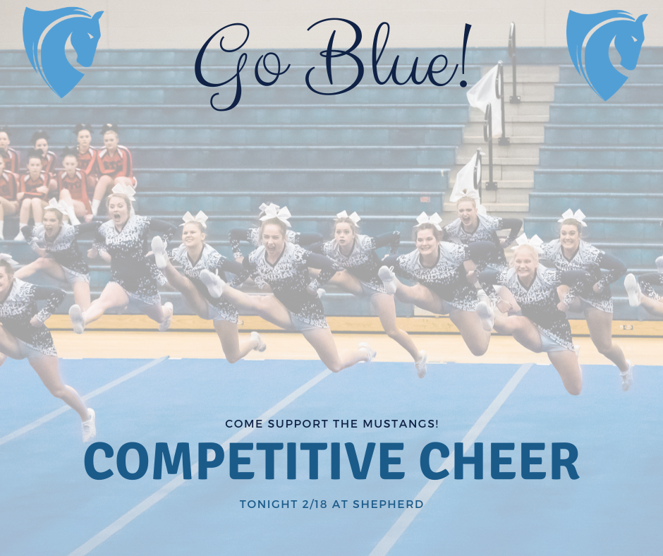 Competitive Cheer 2/18