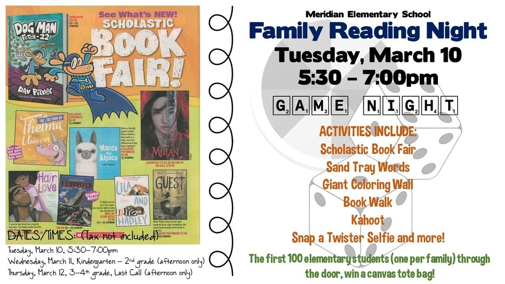 Family Reading Night/Book Fair