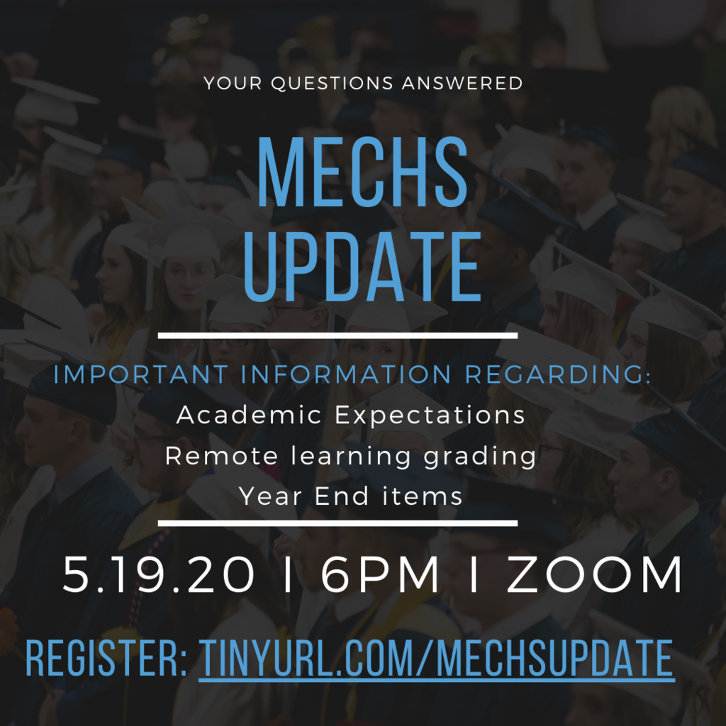 MECHS 9-11th Grade COVID-19 Update