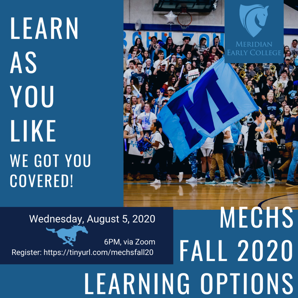 MECHS Fall 20-21 Learning Options